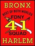 FDNY Squad 41 - Bronx / Harlem